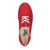 Red women's sneakers tomy-takkies, red , 519-5691 - 19