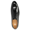 Leather shoes in a Derby style bata, black , 824-6652 - 19