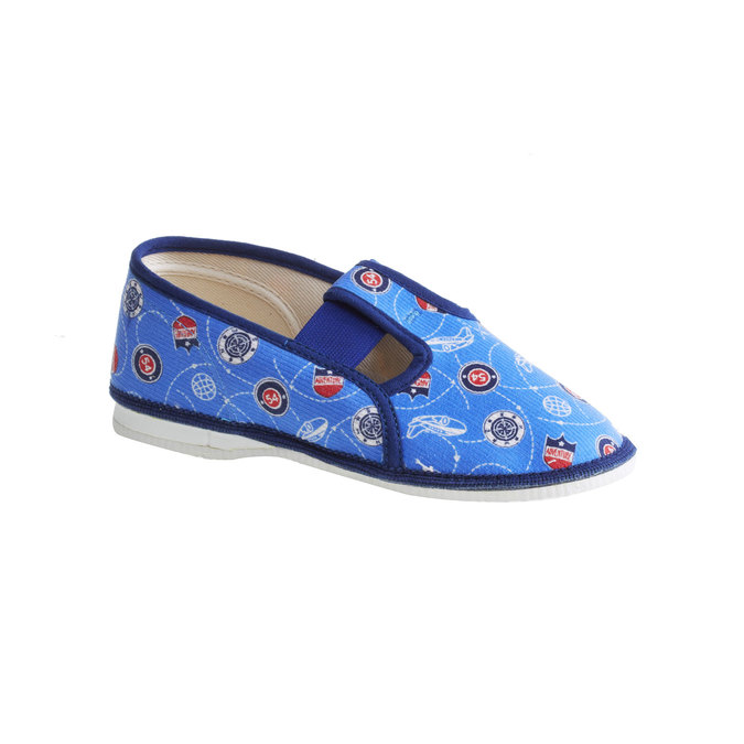 Children's slippers bata, blue , 279-9011 - 13