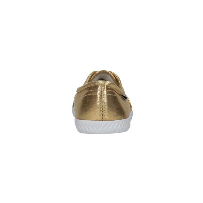 Gold women's sneakers tomy-takkies, gold , 519-8690 - 17