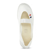 Kids' gym shoes bata, white , 379-1001 - 17