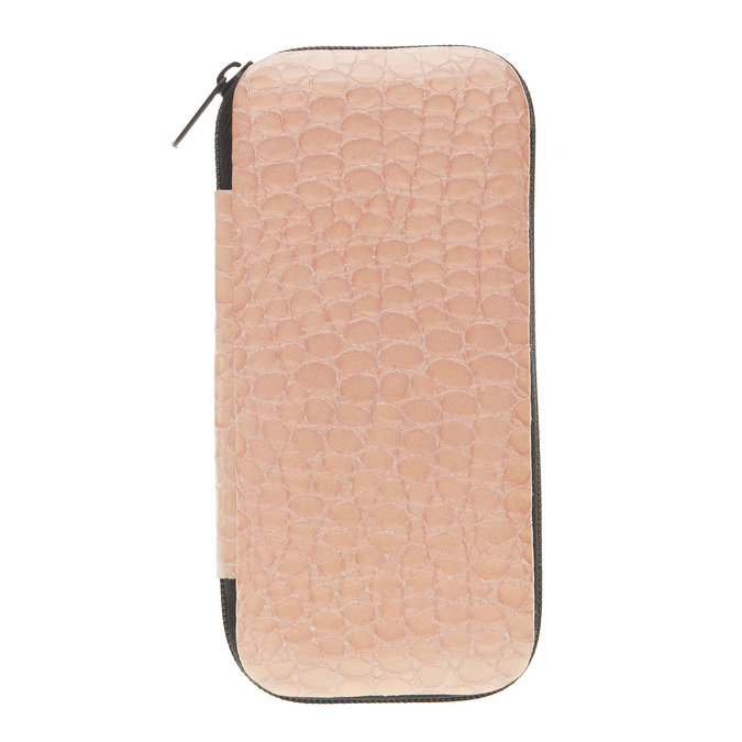Manicure in a zippered leather case bata, 944-0323 - 13