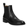 Black leather Chelsea Boots vagabond, black , 514-6008 - 13