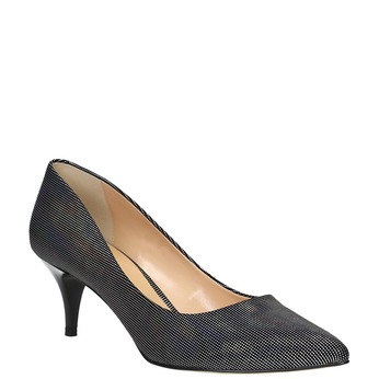 Ladies' pumps with colourful glitter bata, 629-0631 - 13