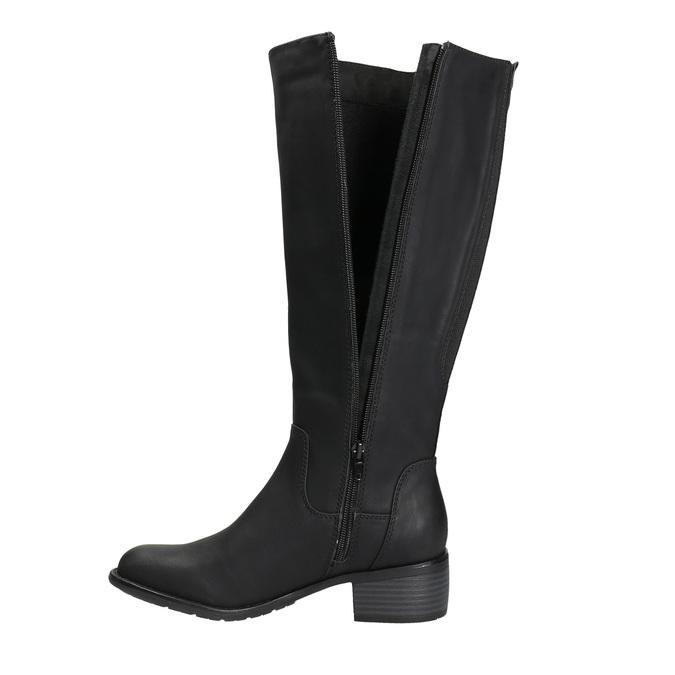 bata, black , 691-6600 - 26