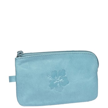 Leather purse bata, blue , 944-9161 - 13
