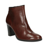 Ladies´ heeled ankle-cut shoes gabor, brown , 794-3019 - 13