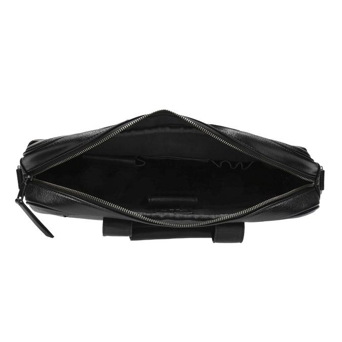 Satchel with detachable strap bata, black , 961-6269 - 15