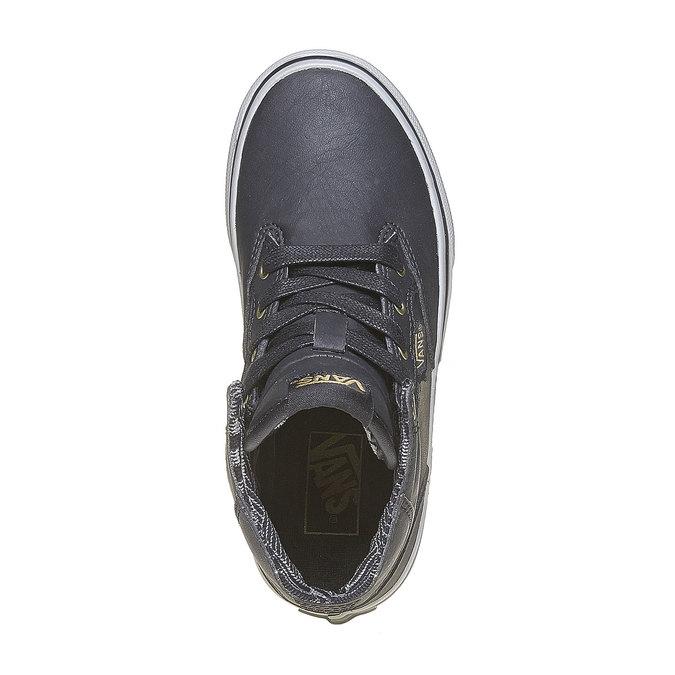 Children's ankle-cut sneakers vans, gray , 401-6310 - 19
