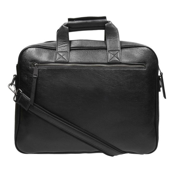 Satchel with detachable strap bata, black , 961-6269 - 19