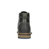 Men's leather ankle boots bata, gray , 894-2621 - 17