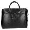 Elegant handbag for carrying in the hand bata, black , 961-6882 - 26