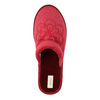 Ladies' slippers bata, red , 579-5611 - 19