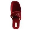 Ladies' wedge-heel slippers bata, red , 679-5607 - 19
