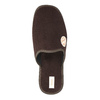 Men's slippers with full toe bata, brown , 879-4609 - 19
