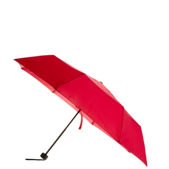 Red telescopic umbrella bata, red , 909-5600 - 13