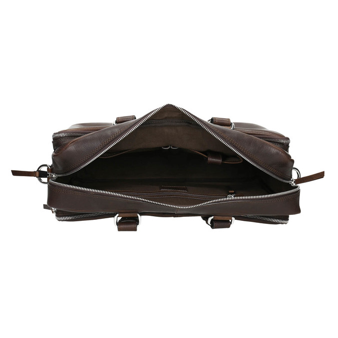 The Seymur Briefcase Bag bata, brown , 964-4106 - 15