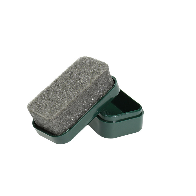 MINI POLISH cleaning sponge collonil, black , 902-6009 - 26
