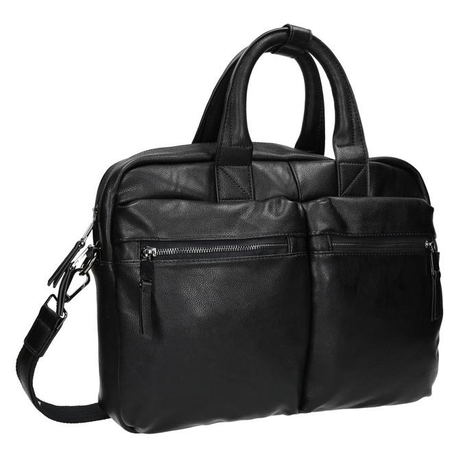 Black bag bata, black , 961-6521 - 13
