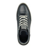 Men's leather ankle sneakers bata, blue , 844-9631 - 19
