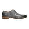 Men's leather Ombré shoes bata, gray , 826-2794 - 15