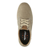 Casual leather shoes weinbrenner, beige , 846-8631 - 19