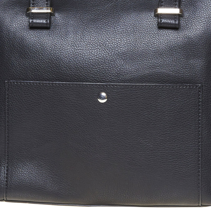 Elegant ladies' handbag bata, black , 961-6278 - 17