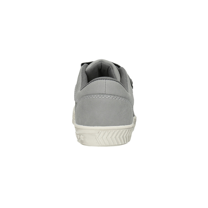 Children's sneakers with Velcro fasteners mini-b, gray , 411-2604 - 17
