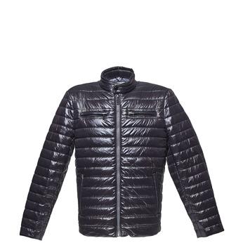 Men's quilted jacket bata, black , 979-6218 - 13
