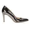 Silver pointed pumps, silver , 721-6607 - 15