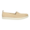 Light slip-ons for ladies bata, beige , 516-8601 - 15