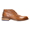 100% leather ankle boots bata, brown , 826-3909 - 15