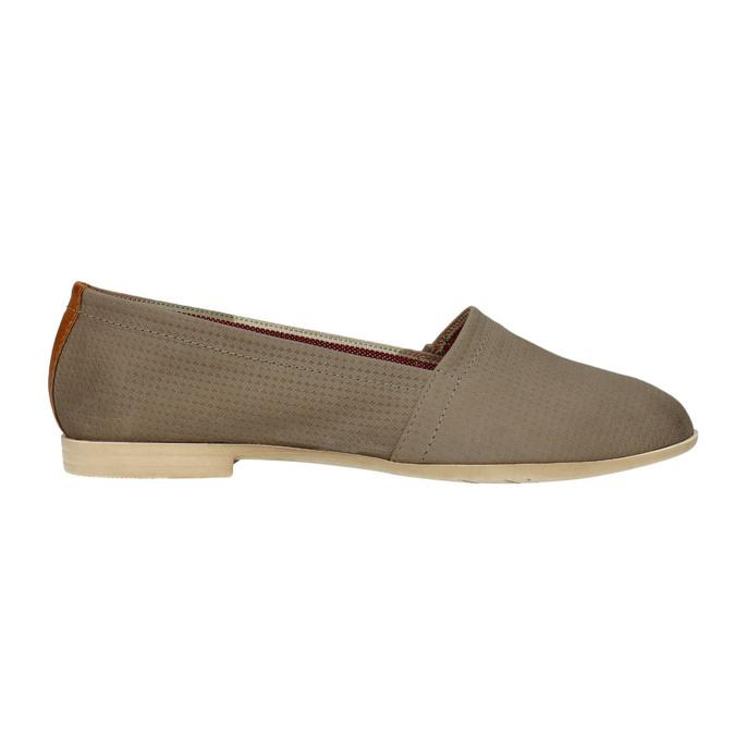 Ladies´ leather Slip-ons bata, brown , 516-2602 - 15