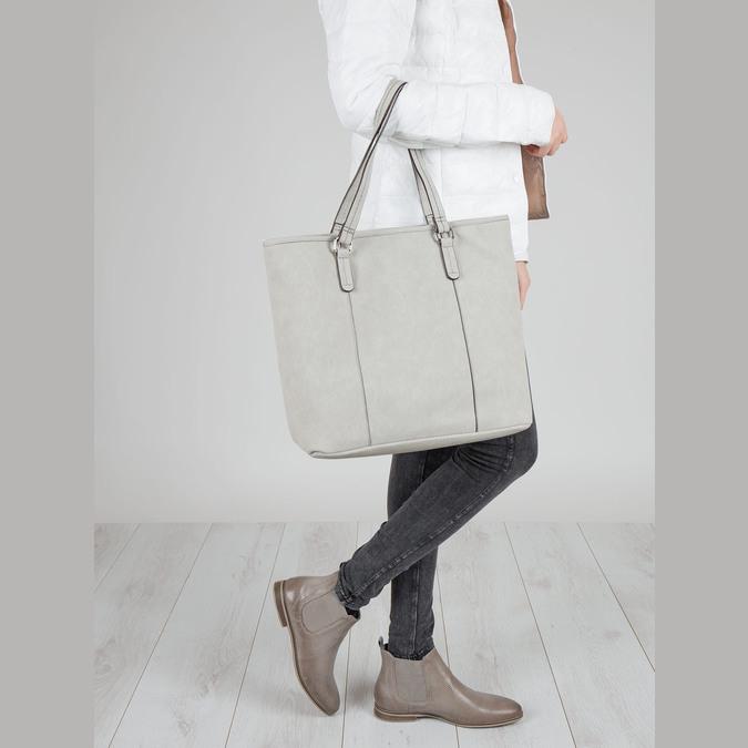 Ladies´ footwear in the Chelsea style bata, brown , 596-2644 - 18