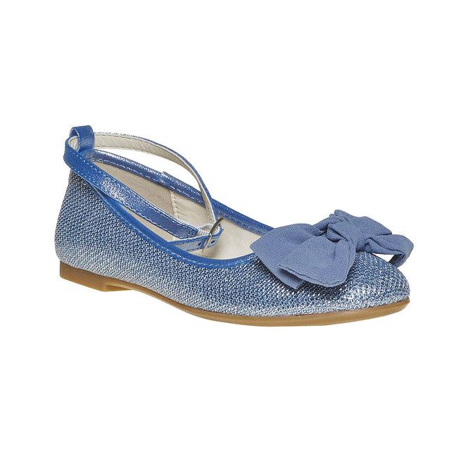Mini B Girls' blue ballet pumps | Bata