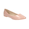 Ladies' patent-leather ballerinas bata, pink , 521-5602 - 13