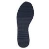 Men's leather sneakers bata, blue , 843-9624 - 26