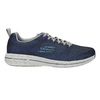Men's sneakers with memory foam skechers, blue , 809-9141 - 15