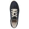 Ladies' leather sneakers gabor, blue , 626-9205 - 19