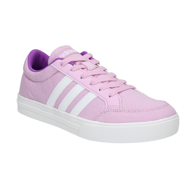 Girls' purple sneakers adidas, pink , 489-9119 - 13