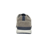 Casual leather sneakers bata, gray , 843-2627 - 17
