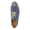 Leather shoes on a contrasting sole weinbrenner, blue , 823-9607 - 19