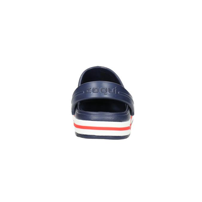 Children's blue sandals coqui, blue , 272-9603 - 17
