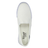 Ladies' slip-ons tomy-takkies, white , 589-1171 - 19