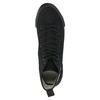 Black ankle sneakers tomy-takkies, black , 589-6173 - 19