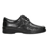 Men's shoes with stitching pinosos, black , 824-6542 - 15
