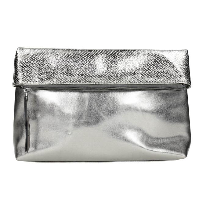 Silver Crossbody handbag bata, silver , 961-1501 - 17
