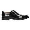 Black leather Oxford shoes bata, black , 826-6671 - 26