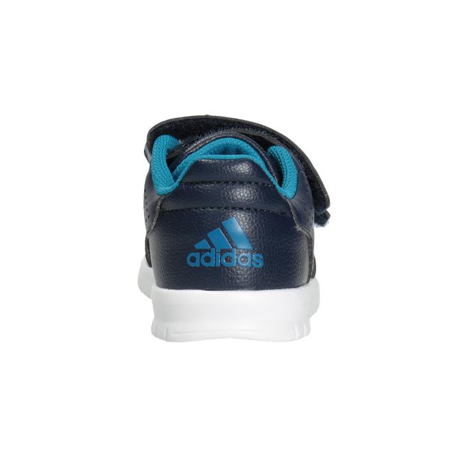 Children's Hook-and-Loop Sneakers adidas, blue , 101-9161 - 16