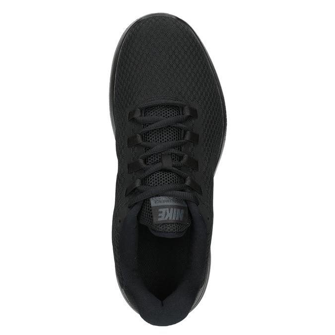 Men's Black Sneakers nike, black , 809-6290 - 15